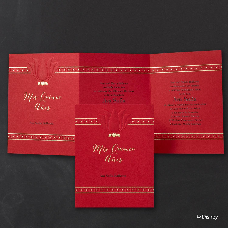 Lovely Lily - Mulan - Invitation > Disney Royal Ball | Forever ...