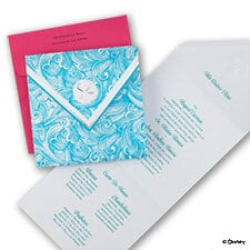 Shimmering Seas - Ariel -Invitation