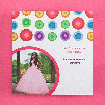 Dazzling Dots - Accommodation Card