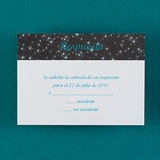 Sparkle - Respond Card and Envelope