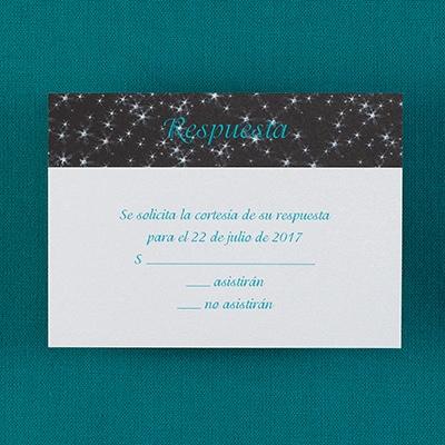 Sparkle - Respond Card and Envelope