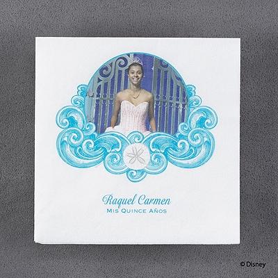 Shimmering Seas - Ariel - Napkin