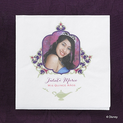Whimsical Wish - Jasmine - Napkin