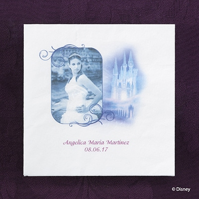 Majestic Charm - Corona de Princess - Napkin