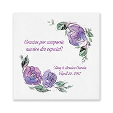 Spanish Wedding Roses - Napkin