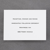Formal Frame - Reception Card