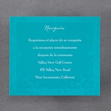 Flourishing Hearts - Reception Card