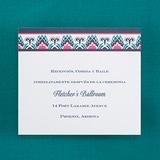 Color Burst - Reception Card