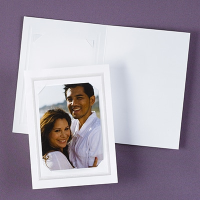 Blank Photo Thank You Card and Envelope