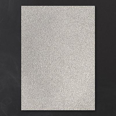 Jumbo Backer - Silver Glitter