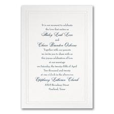 traditional invitation: Refined Elegance