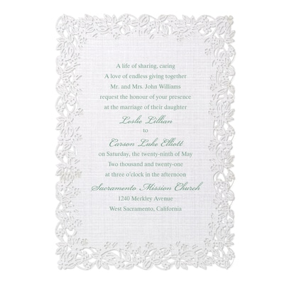 Linen Love Invitation