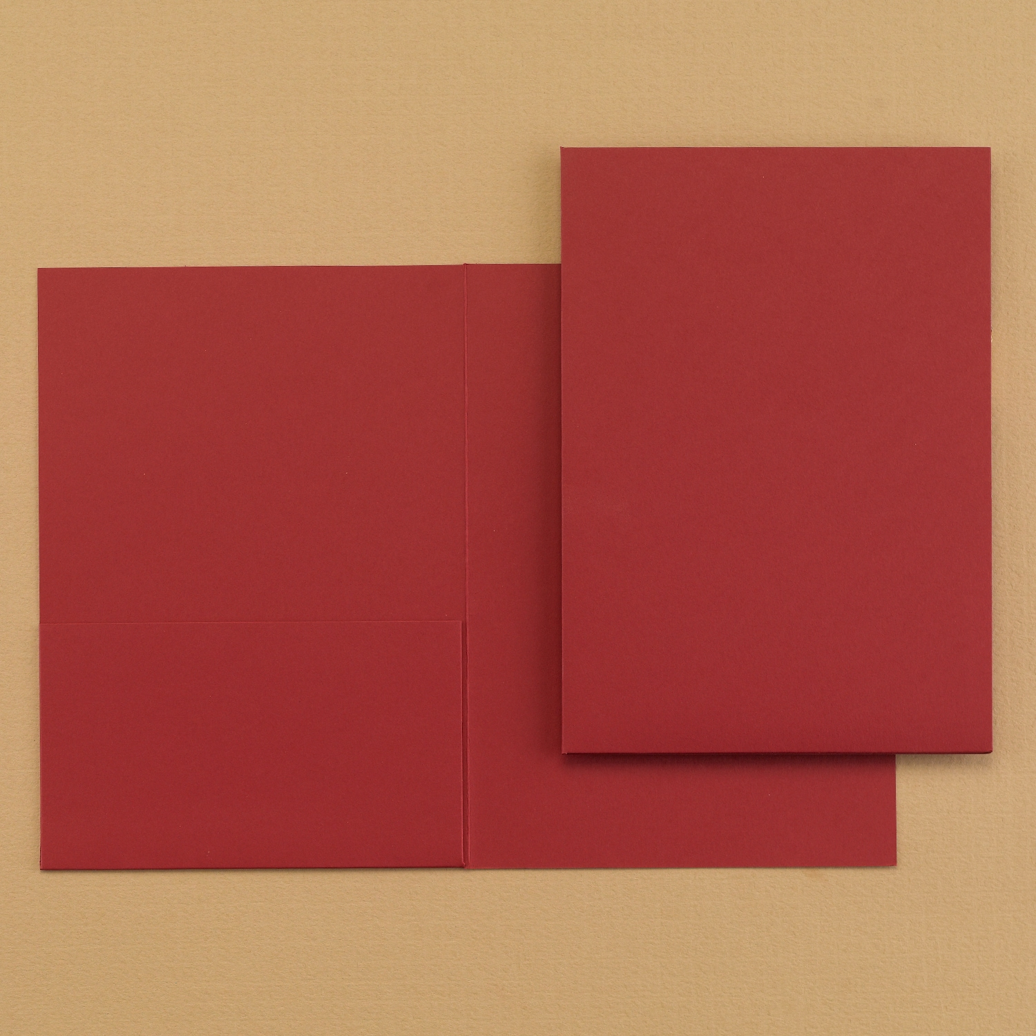 Folder Pocket - Claret > Layers & Liners | Carlson Craft Wedding ...