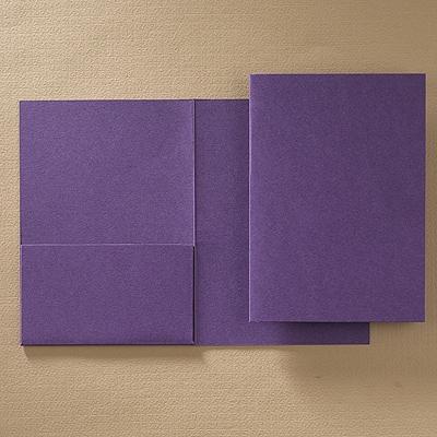 Folder Pocket - Purple Shimmer