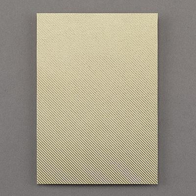 Stripes Jumbo Backer - Gold Foil