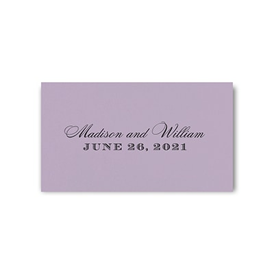 Tab Card - Lavender
