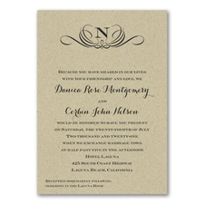 Wedding Invitation: Preferential Design