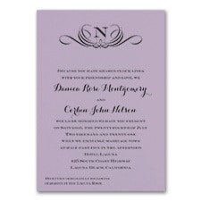 Preferential Design - Invitation - Lavender