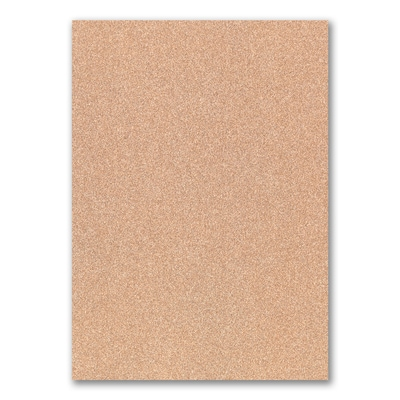 Jumbo Backer - Rose Gold Glitter