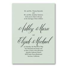 Wedding Invitation: Regal Type Invitation