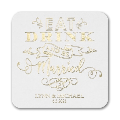 Wedded Bliss Coaster