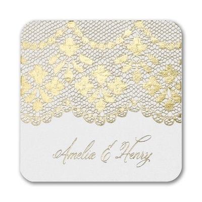 Evening Lace Coaster