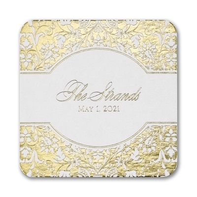 Shining Damask Coaster