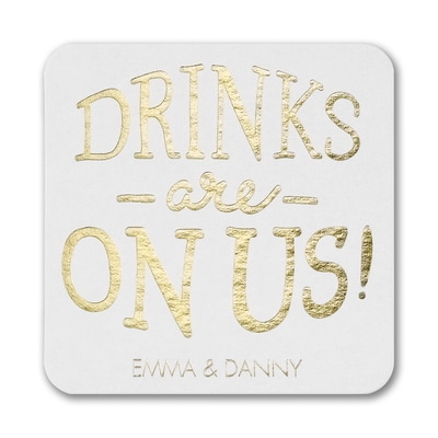 Drinks for All Coaster