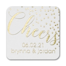Celebration Dots Coaster
