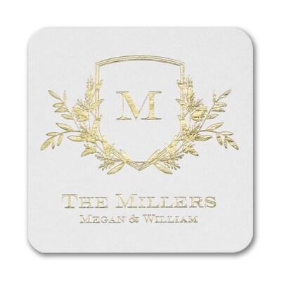 Garden Monogram Coaster