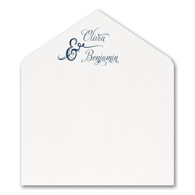 Love and Romance Jumbo Liner - White