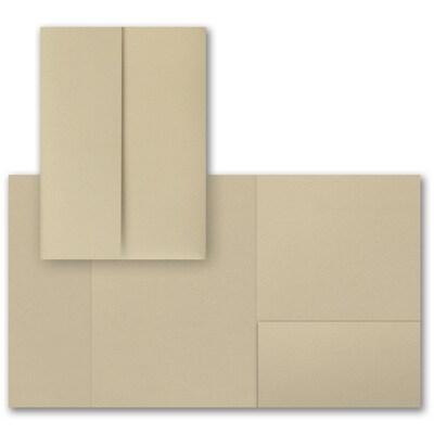Gold Shimmer Gatefold Pocket