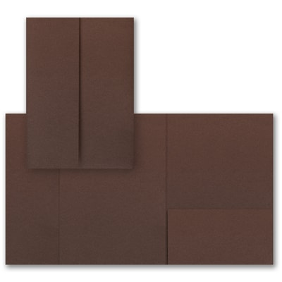 Mocha Shimmer Gatefold Pocket
