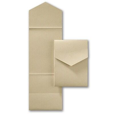 Jumbo Pocket - Gold Shimmer