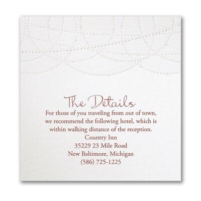 Joyful Romance Accommodation Card