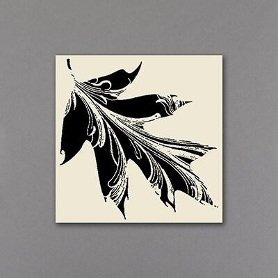 Leaf it to Romance - Seal - Ecru