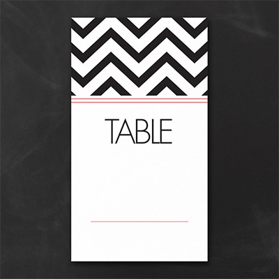 Best Chevron Ever Table Number