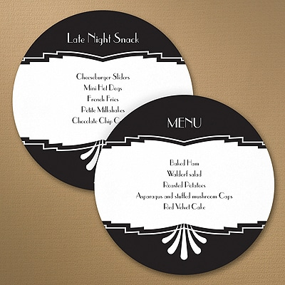 Marvelous Deco Design Circle Menu