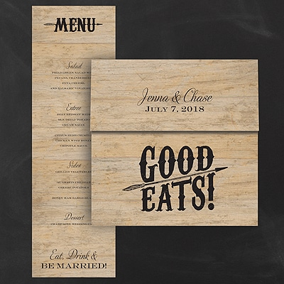 Good Eats Menu