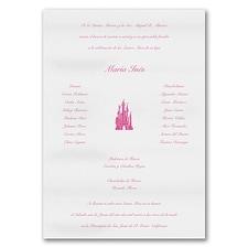 Quinceañera Invitation: Fit For A Princess
