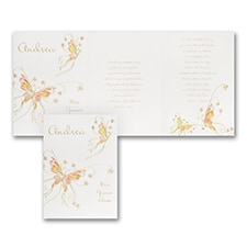 Fluttering Butterflies - Invitation