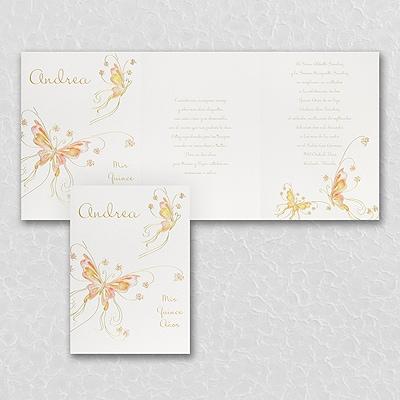 Fluttering Butterflies - Invitation