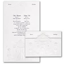 Grand Wedding Gazebo - Invitation