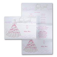 Quinceañera Invitation: Enchanting Princess