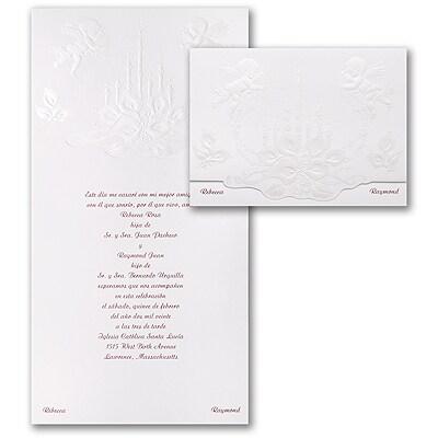 Cherub's Delight - Invitation