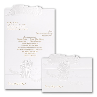 Married In Style - Invitation