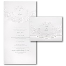 Shimmering Roses - Invitation