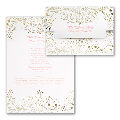 Enchanted Evening - Invitation - Gold