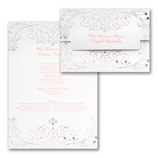 Quinceañera Invitation: Enchanted Evening