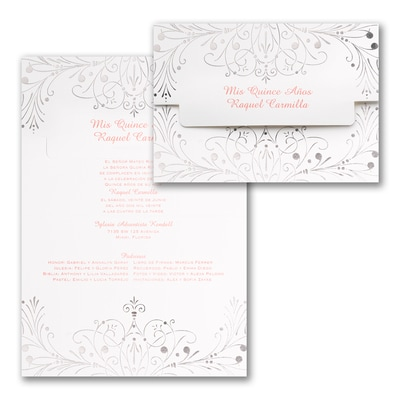 Enchanted Evening - Invitation - Silver